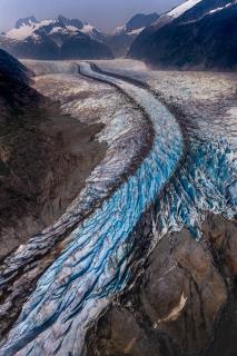 Alaska - Fluss aus Eis
