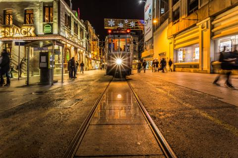 Istanbul - Taksim Tünel