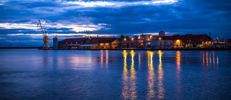 Der Hafen von Thessaloniki