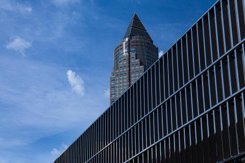Messeturm in Frankfurt