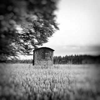 Verlassene Jagdhütte