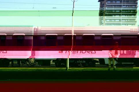 NFT: Next station Milano Lambrate / aus dem Zyklus ....