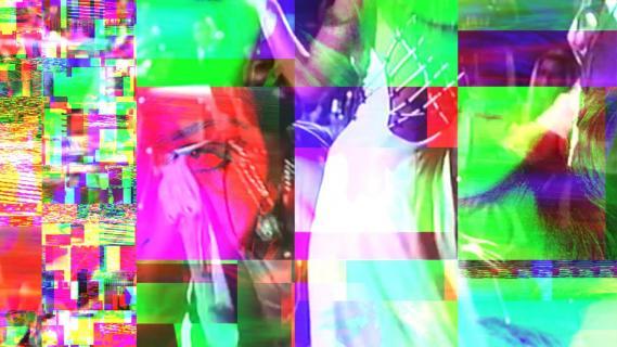 Dance Cubes Nb. 5 (2019) NFT artwork of artvideo DanceCubes