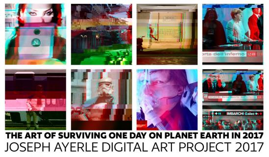 awarded Crypto-Art project: The Art of Surviving One Day