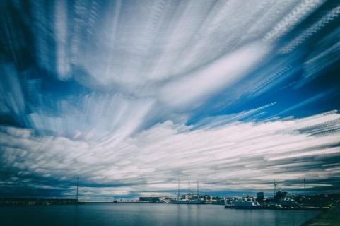Himmel über Gdynia