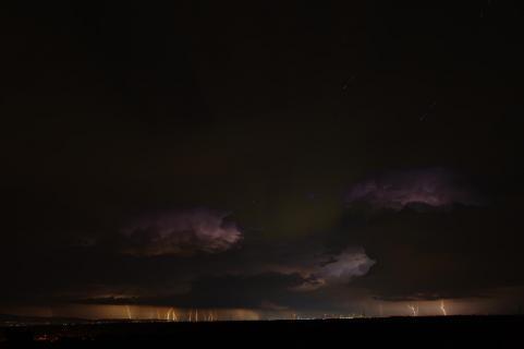 Frankfurt im Blitzlicht