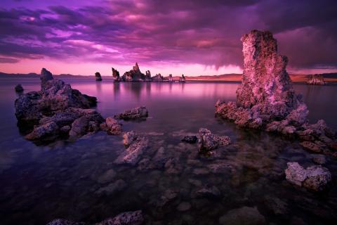 Mono Lake Sundown