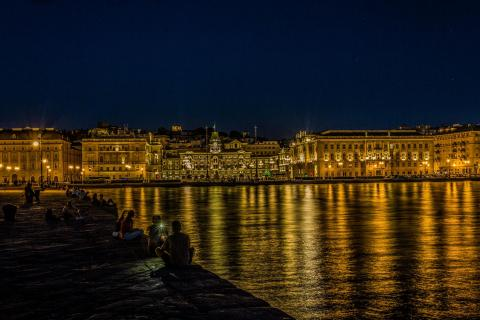 Summernight in Trieste
