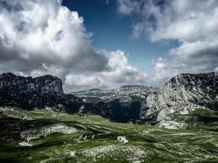 In den Bergen Montenegros