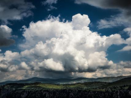 Wolken über Montenegro