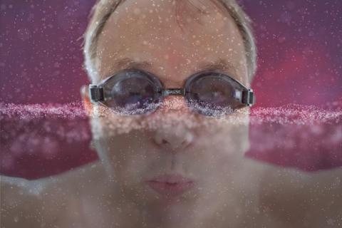 Der Schwimmer