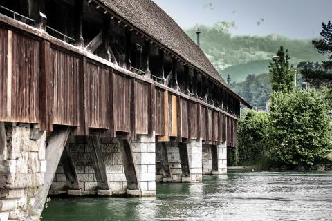 Wangener Holzbrücke
