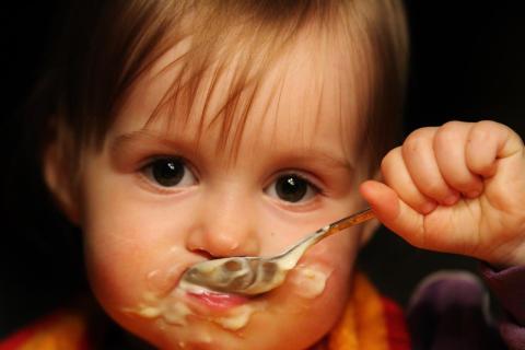 ich kann alleine essen