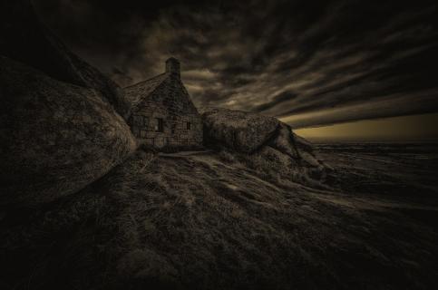 Nachts am alten Zollhaus