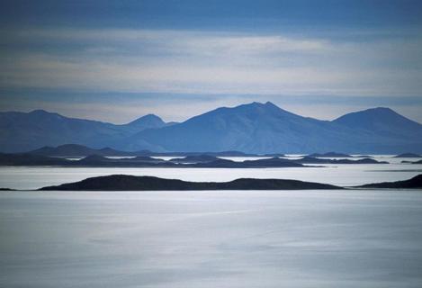 Salzinsel, Salar de Uyuni, Bolivien