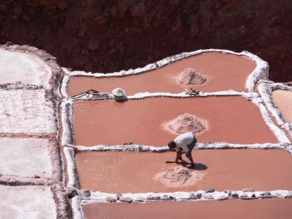Salzterrassen, Maras, Peru
