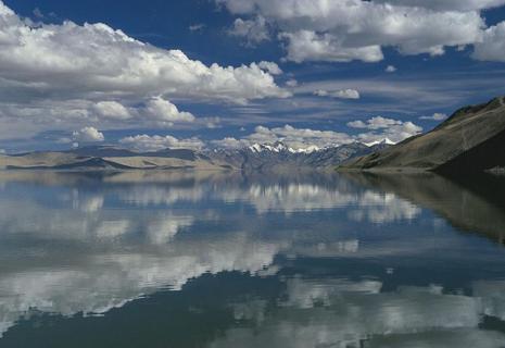 Salzsee, Changthang, Tibet