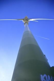Windrad auf dem Grünen Heiner