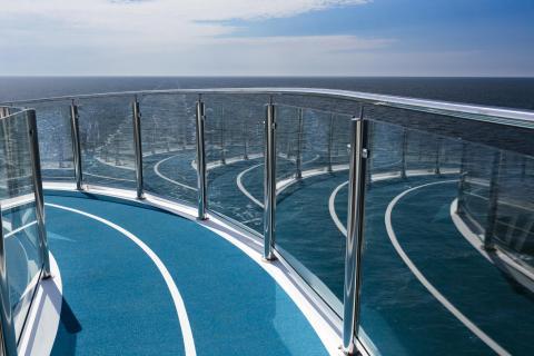 Spiegelung über der Ostsee
