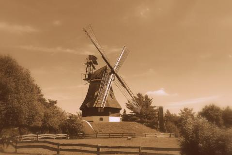 Bergholländer- Mühle