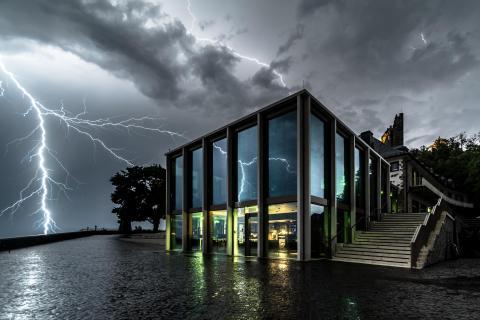 Gewitter über Drachenfels
