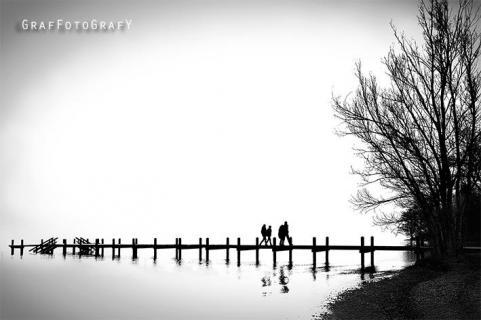 Spazierung am Starnberger See