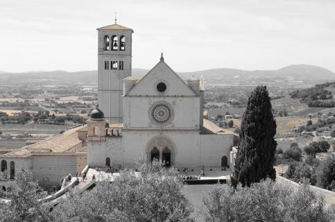 Basilika San Francesco mit Filter