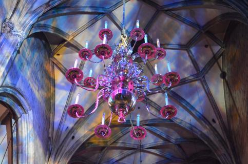 Leuchter im Stephansdom