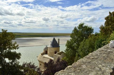 Blick vom Mont-Saint-Michel