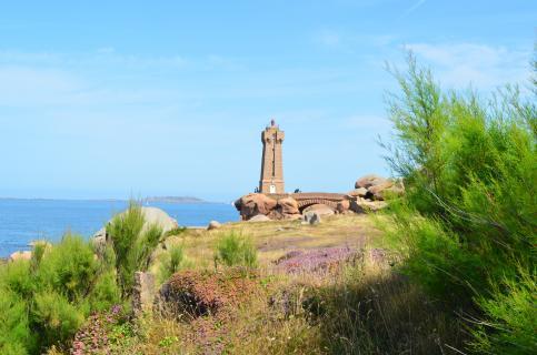 Leuchtturm bei Ploumanac'h