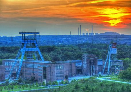 Sonnenuntergang im Ruhrpott 2009