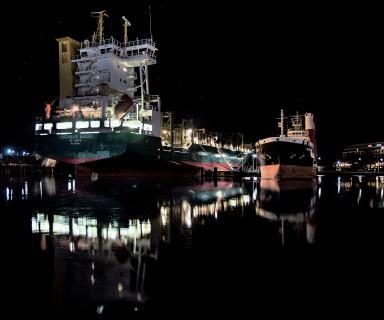 Aufliegerschiffe in Wilhelmshaven