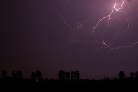Blitz über Krauthausen