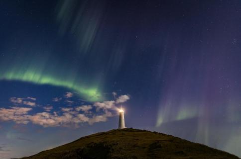 Wo sind die Polarlichter?