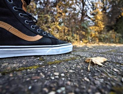 Schritte im Herbst