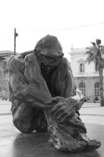 Cartagena Hafen Statue