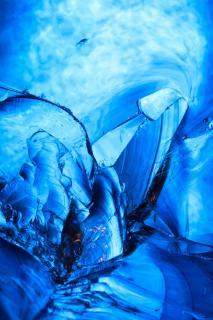Glasschlacke im Licht