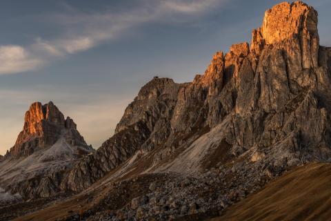 23 Landschaft im Abendlicht  Peter Nagel