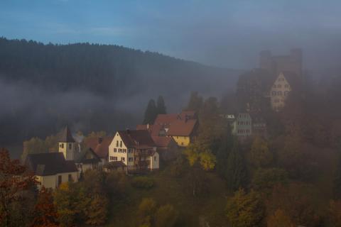 39 Herbst im Nebel Peter Nagel