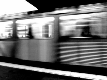 Rush Hour in der U-Bahn, Hamburg