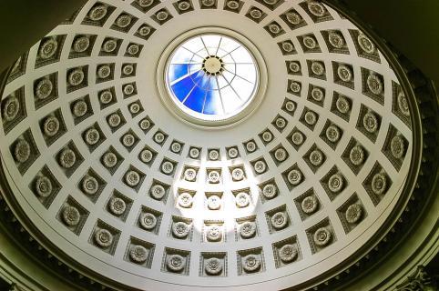 unter die Kuppel