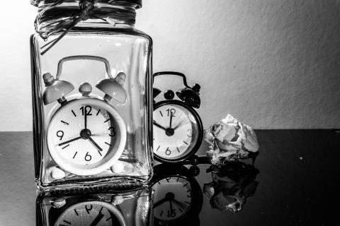 gespeicherte Zeit