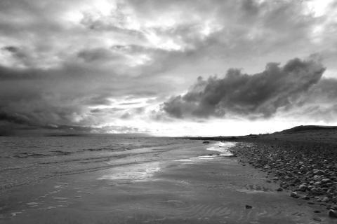 Schottland Küste vor Arran