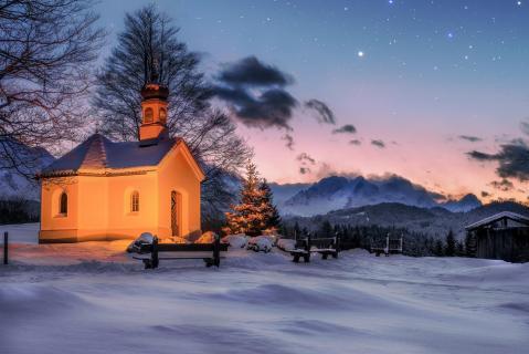 xmas church