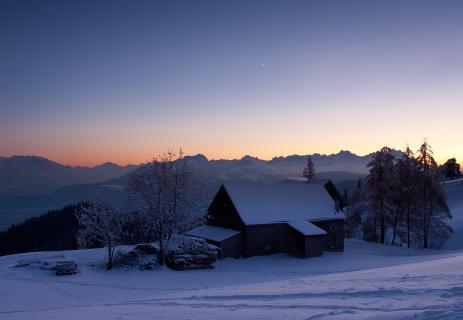 Blaue Stunde am St.Anton