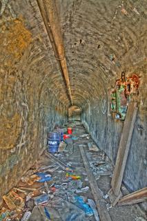 Verlassener Bunker in Mali Losinj