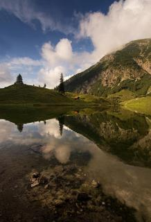 Gaisalpsee Oberstdorf, a treasure of Bavaria