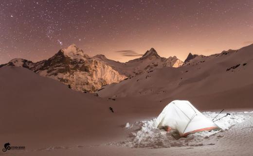 first snow camp
