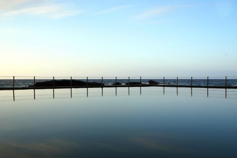 Glattes Meer