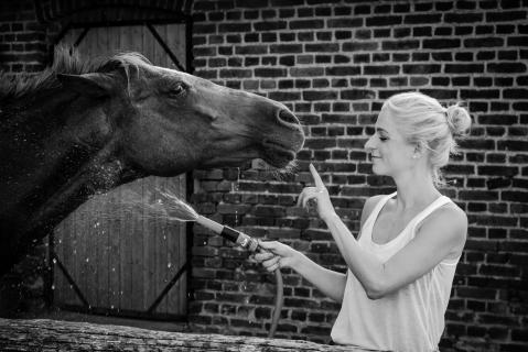 Daniela und ihr Pony